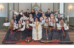 Årets konfirmanter i Lunde og Flåbygd kyrkjer