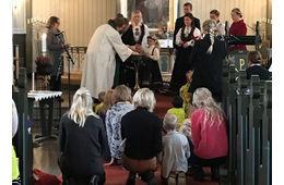 Høsttakkefest i Lunde kyrkje