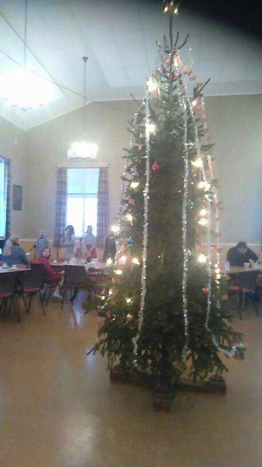 Juletrefest på Solhaug