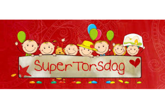 Bli med på Supertorsdag