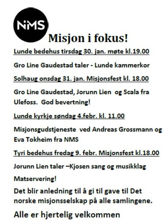 Misjon i fokus