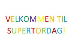 Program for SuperTorsdag våren 2018