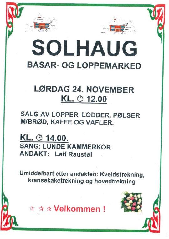 Solhaugbasaren 2018