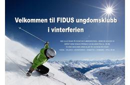 Velkommen til Fidus ungdomsklubb i vinterferien!
