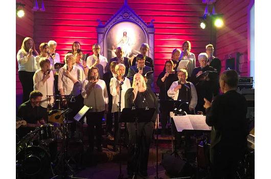 Fantastisk vårkonsert i Flåbygd kyrkje
